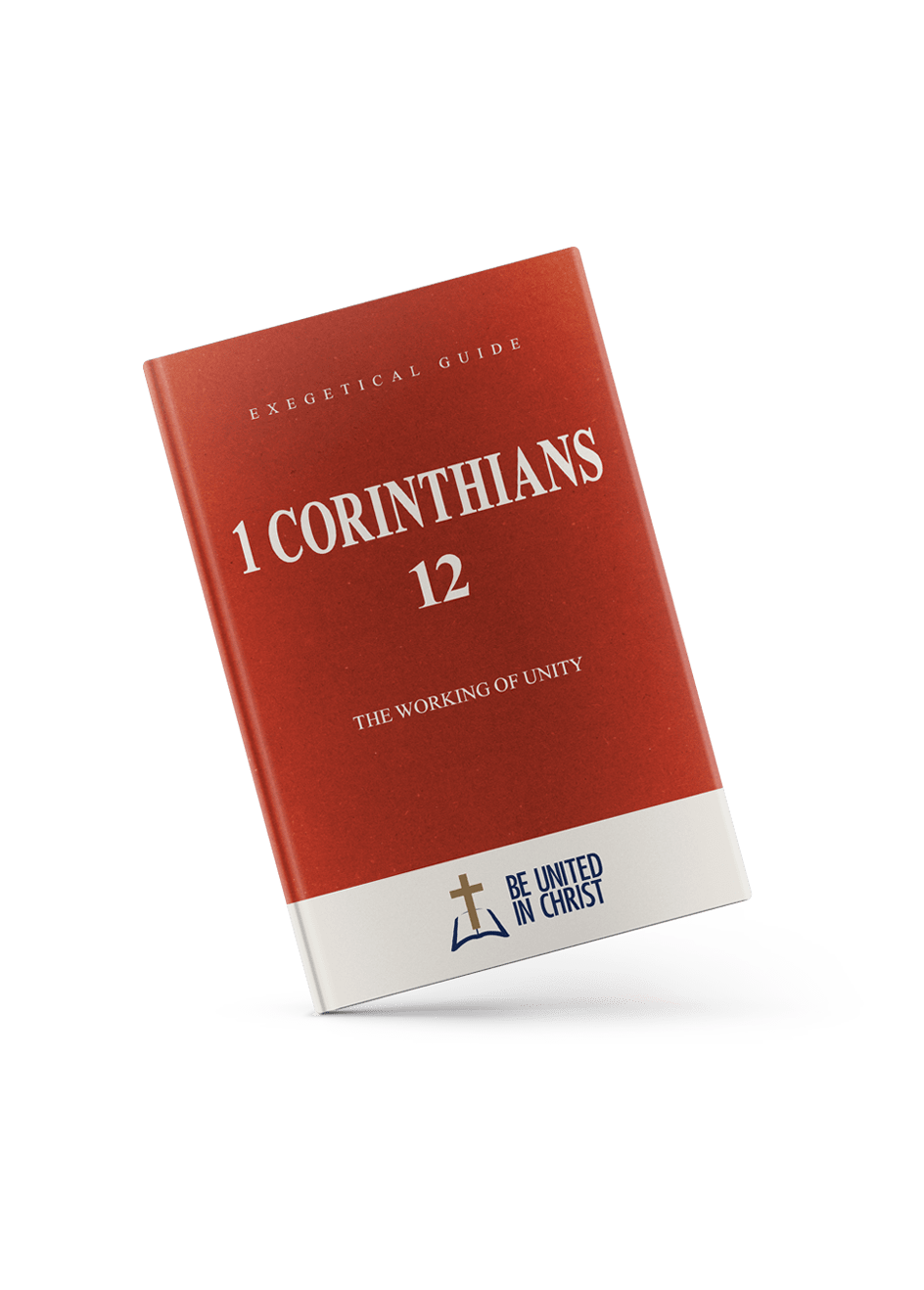 1 Corinthians 12 Book Cover angle view