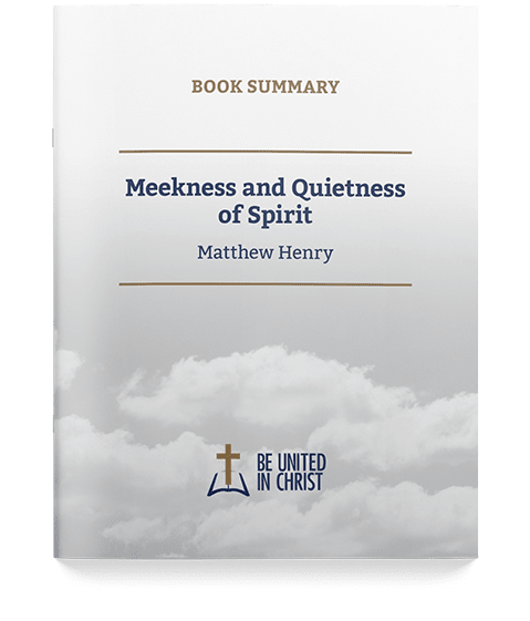 Meekness and Quietness of Spirit