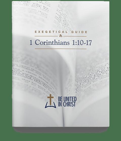 1 Corinthians 1:10-17