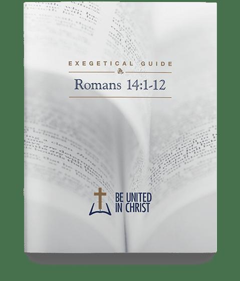 Romans 14:1-12