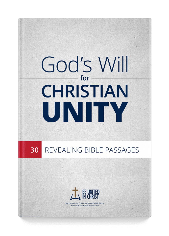 God's Will For Christian Unity Cover