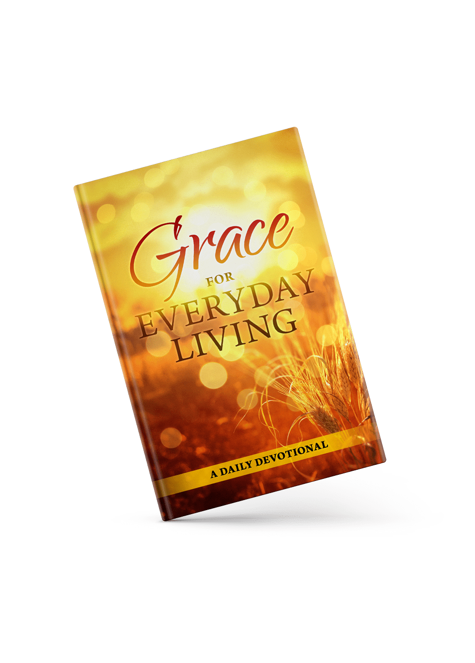 Grace For Everyday Living Book Cover angle view