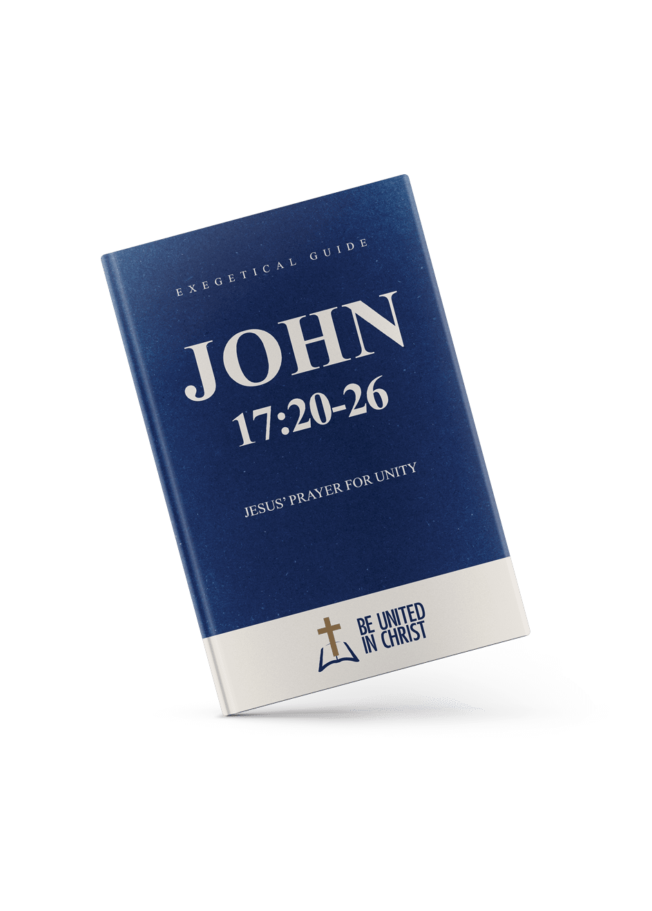 John 17:20-26 Book Cover angle view