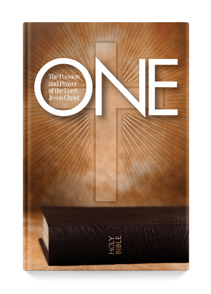 One: The Passion and Prayer of the Lord Jesus Christ Book Cover
