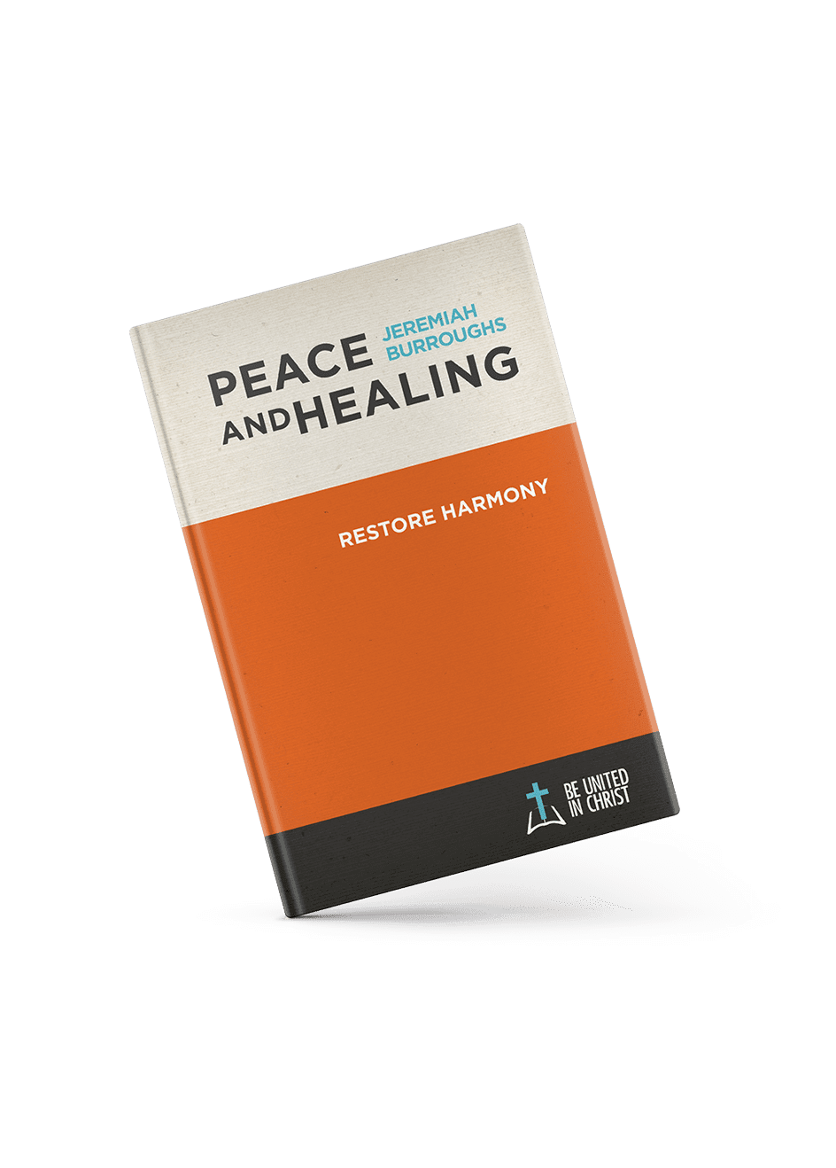 Peace and Healing Book Cover angle view